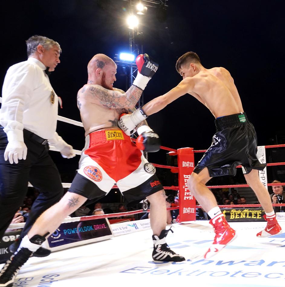 Ich werde Profi-Boxer…!